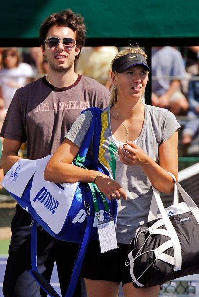 """A la pareja más famosa del ambiente deportivo, se les conoce como """"Masha..."""