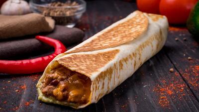 Burrito de frijol negro | Reto 28