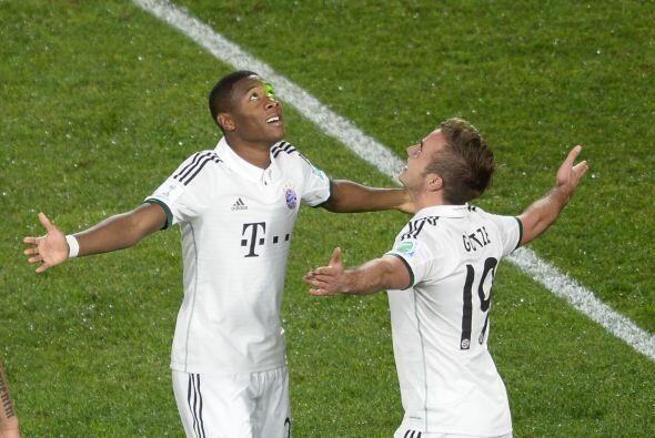 Para el segundo tiempo, el tercer gol llegó.