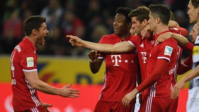 En esta temporada Bayern Múnich cuenta con 13 puntos de ventaja sobre el...