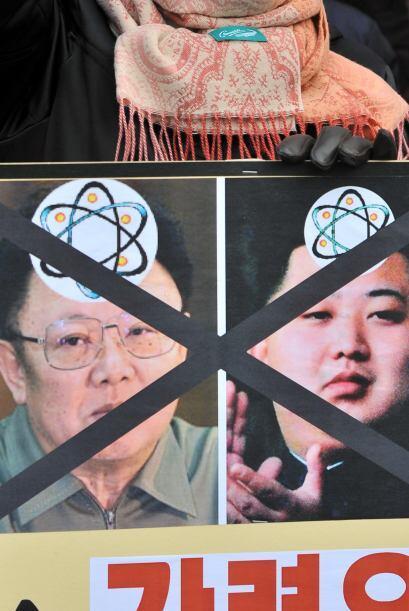 Además, Kim prometió que lanzará al espacio más satélites, como el puest...