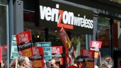 La huelga en Verizon afecta los números semanales de solicitudes de ayud...