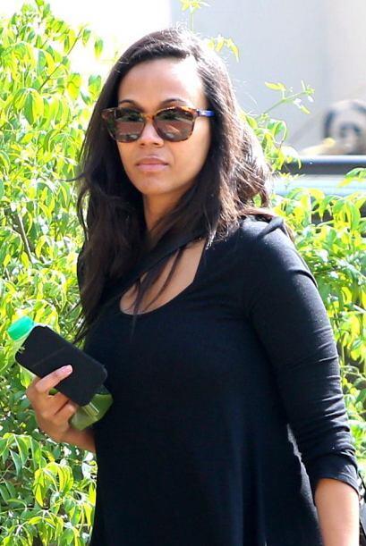Por su parte, Zoey Saldana es una de las famosas que se suma a las celeb...