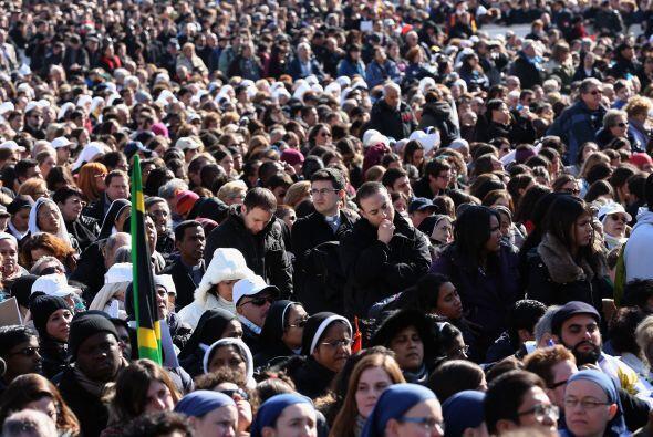 Unas 50.000 entradas fueron solicitadas para que los peregrinos pudiesen...