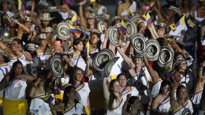 En fotos: la inauguración de los Juegos Centroamericanos y del Caribe Barranquilla 2018