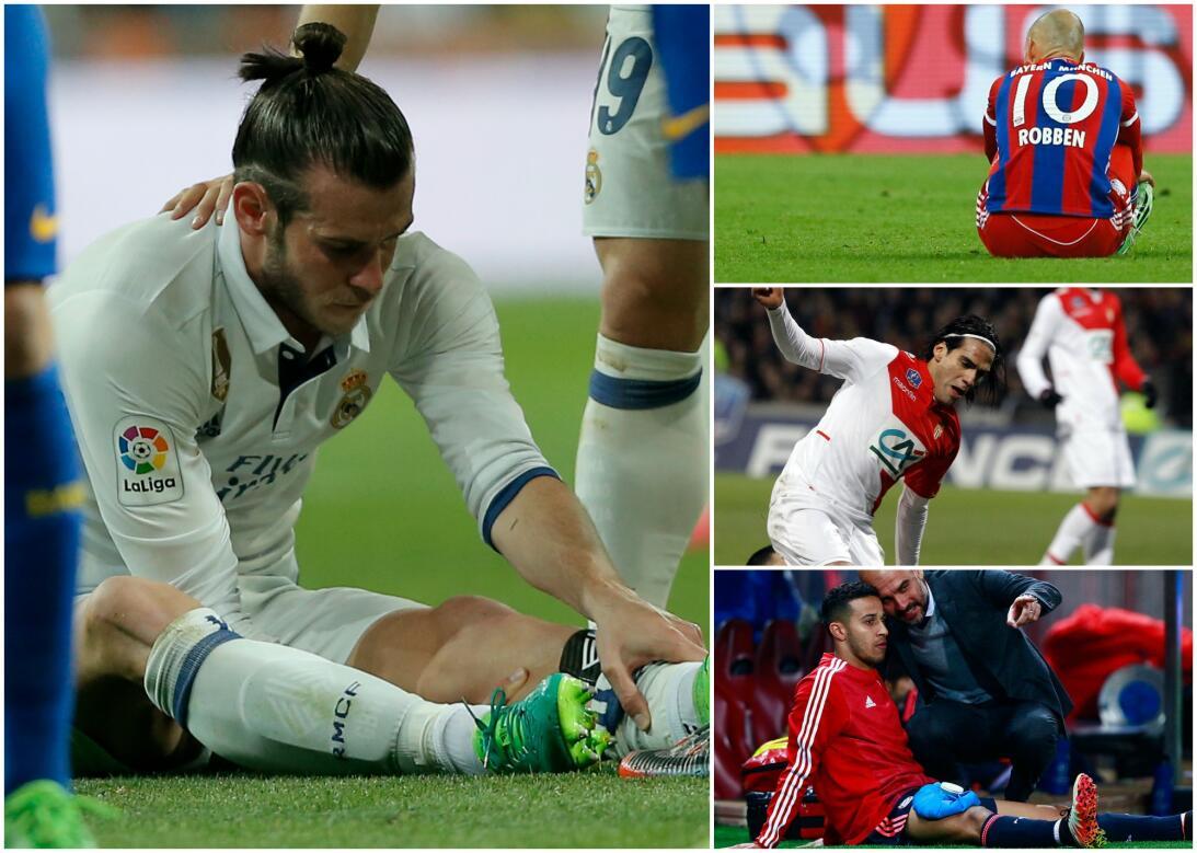 Bale y otros cracks de cristal que sufren constantes lesiones lesionados...