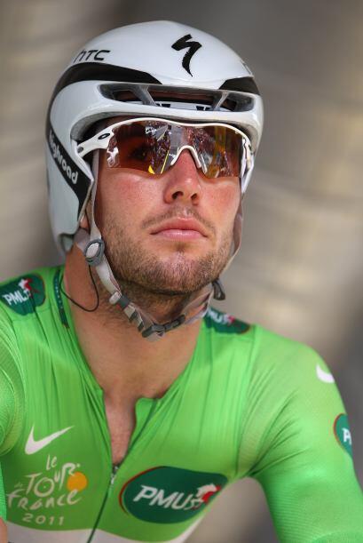 Mark Cavendish fue uno de los ciclistas más constantes  y, en esta ocasi...
