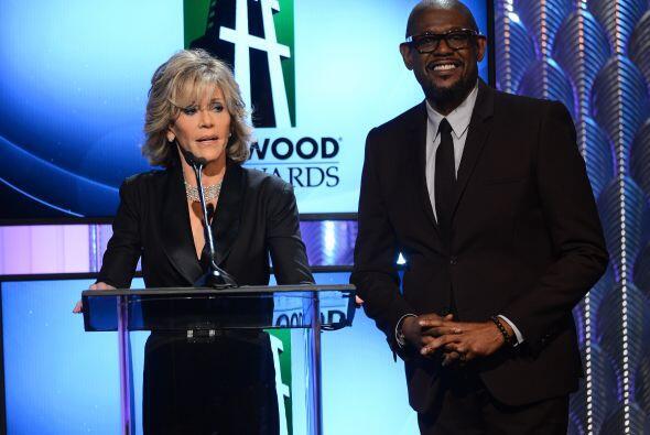 Jane Fonda también presentó una terna. Mira aquí los videos más chismosos.