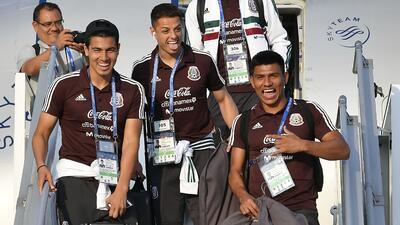 En fotos: llega la selección de México a la sede más lejana, Ekaterimburgo
