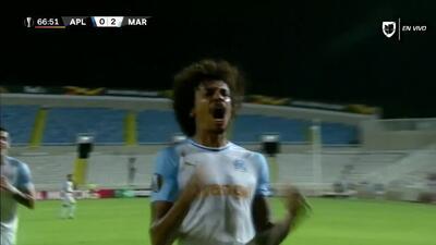 ¡GOOOL! Luiz Gustavo anota para Marseille