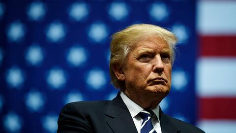 El presidente Donald Trump en un evento en Michigan el 9 de diciembre de...