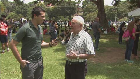 En Mayagüez también decenas fueron a ver el eclipse