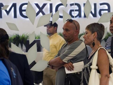 A menos de un año de que la aerolínea Mexicana de Aviaci&o...