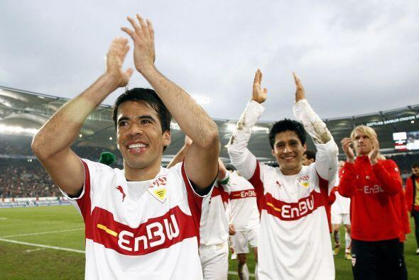 En el 2007 dos mexicanos del Stuttgart debutaron en la Champions League,...