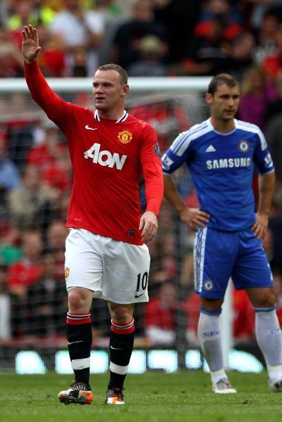 Rooney se unió a la lista de goleadores y esto ya era una goleada.