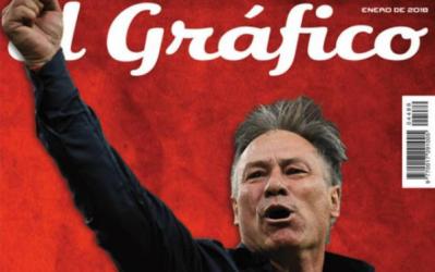 La portada del último ejemplar de la revista El Gráfico, c...