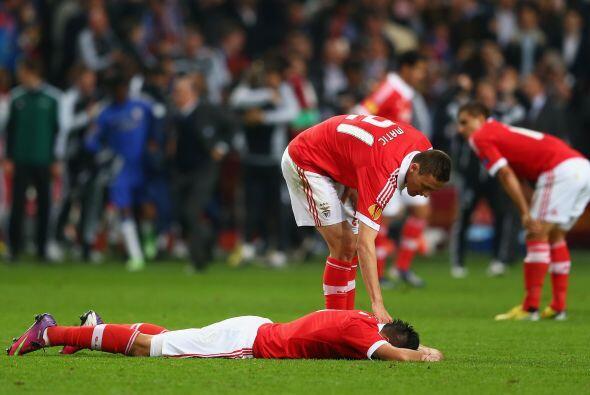 Mientras tanto, las 'Águilas' portuguesas mostraban su decepción por per...