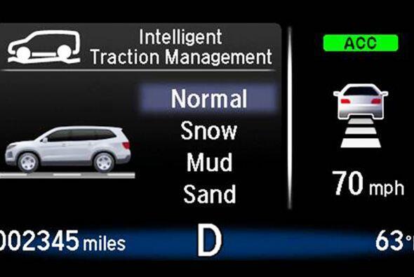 Además, un nuevo sistema de gestión de tracción inteligente que permite...