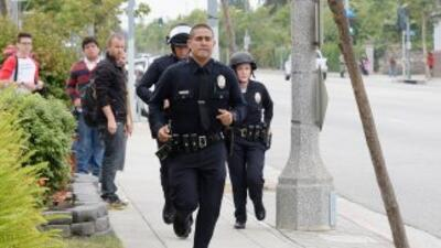 Los policías consideran que es discriminatorio que se les prohíba hablar...