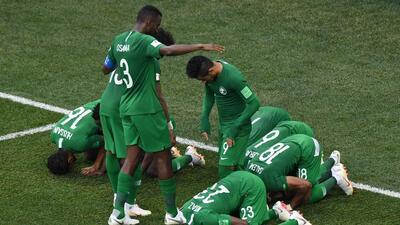 En fotos: Arabia Saudita derrotó 2-1 a Egipto en su despedida de Rusia 2018