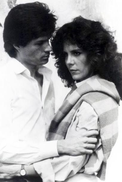 Esta fue la primer telenovela en la que compartió créditos con el actor...