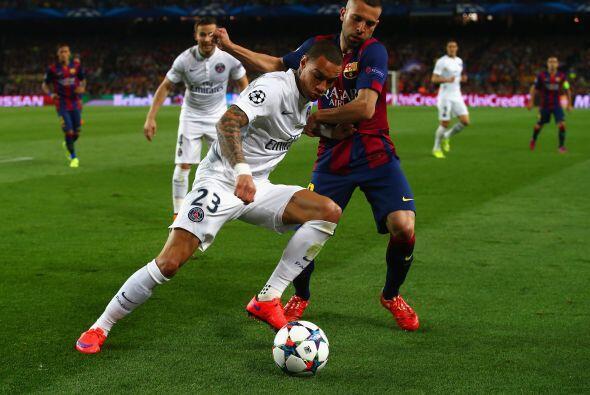 En la segunda parte el Barcelona bajó el ritmo de juego y le prestó el b...