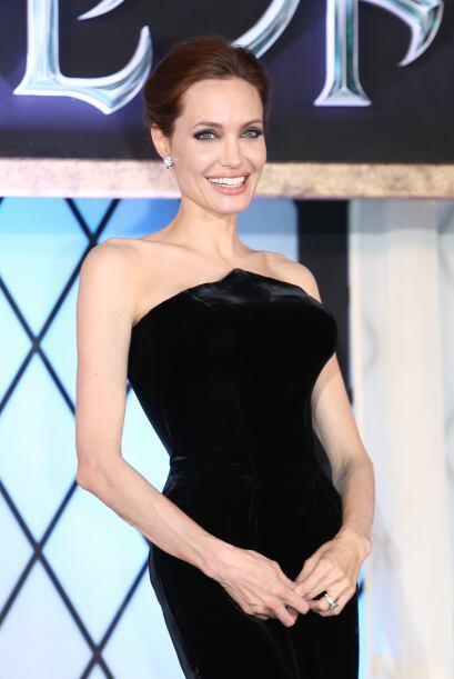 """La flamante Angelina Jolie podría ser """"la querida"""" más famosa de Hollywo..."""