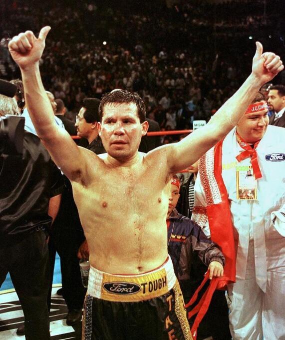 El gran Julio César Chávez es otro de los grandes deportistas que ha anu...
