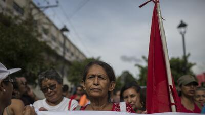 Photos: Activists push for greater access to abortion in El Salvador