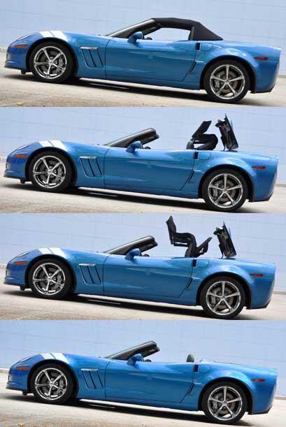 La versión descapoteble le da un toque divertido a este auto deportivo a...