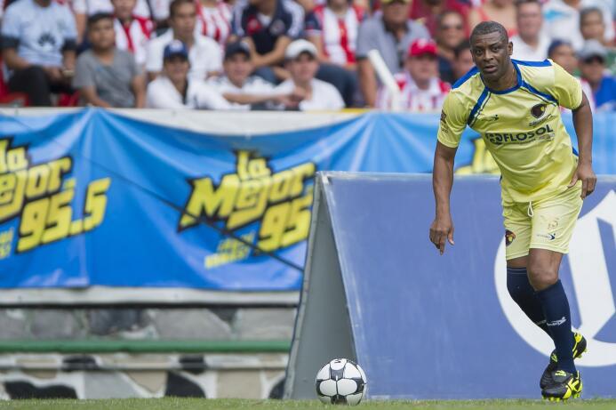 Francois Omam Biyik (Camerún) estuvo en el América de 1994 a 1996. Luego...