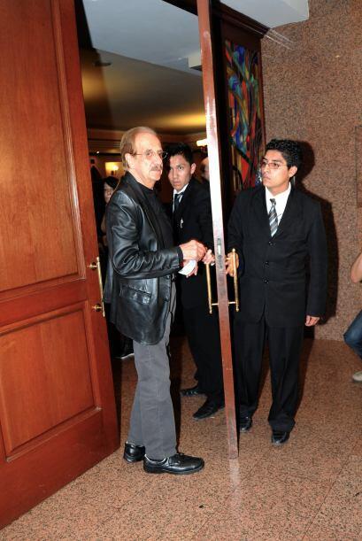 Benito Castro se sumó a los amigos y familiares del comediante. M...