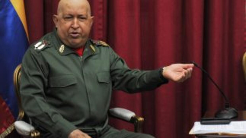 El presidente venezolano, Hugo Chávez rechazó presunto complot contra Es...