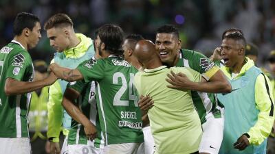Atlético Nacional a la final de la Copa Libertadores después de 21 años