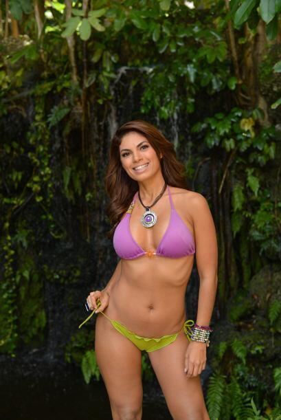 Su abdomen plano es la envidia de muchas mujeres y un orgullo para ella.
