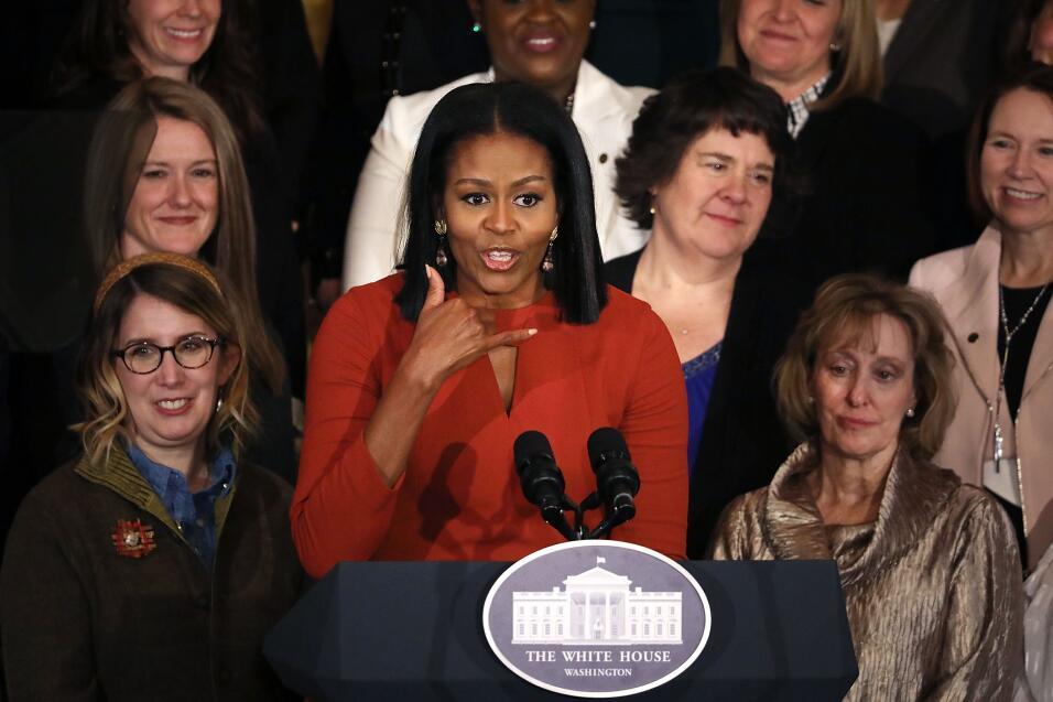 Michelle Obama ultimo discurso