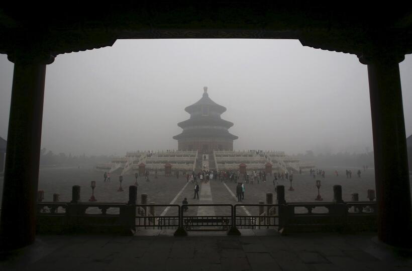 Cinco cosas que quizás desconoces del Gran Cañón smog4.JPG