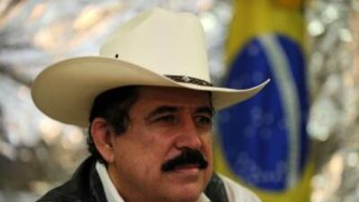 El ex presidente de Honduras, Manuel Zelaya, podría recibir esta semana...