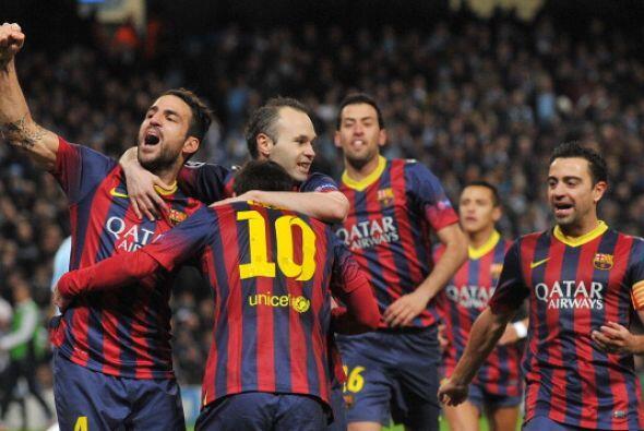 Barcelona ya tiene casi escrito su nombre en los cuartos de final.