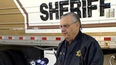 El Sheriff Joe Arpaio dió inicio a sus operativos de seguridad.