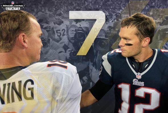 6 Manning vs. Brady: Seis de los últimos siete juegos entre Tom Brady y...