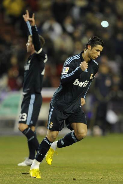 El portugués Cristiano Ronaldo marcó el 1-0 por medio de un tiro libre.