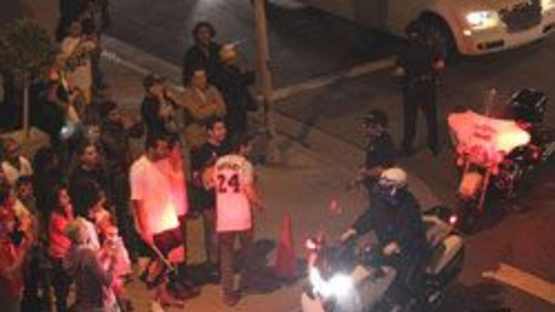 Mas de 38 detenidos por disturbios luego del triunfo de los Laker de Los...