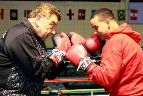 Esta vez cambiaron el estudio de Don Francisco por un ring de boxeo.
