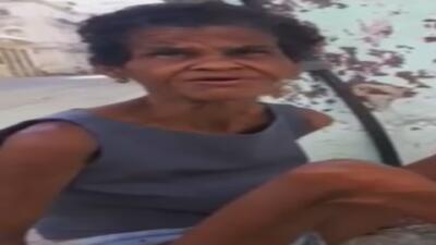 Joven cubano difundió video con el que logró obtener ayudar para una muj...