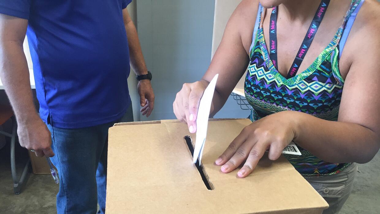 Votar en Puerto Rico