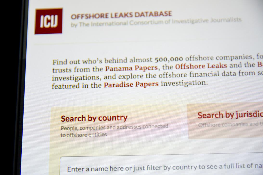 Otros leaks del ICIJ se han abierto al público con restricciones y adver...