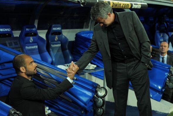 Febrero de 2011, sobre Josep Guardiola y José Mourinho: ''Me gustaría en...
