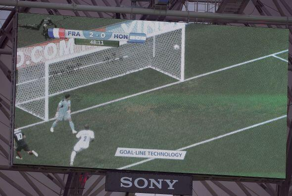 En tres ocasiones se utilizó la tecnología de la linea de gol.