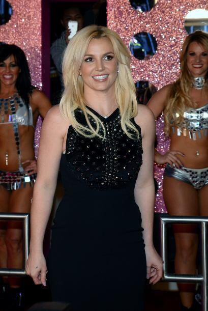 """En Planet Hollywood viendo a mi novia, Britney Spears, con su show Piec..."